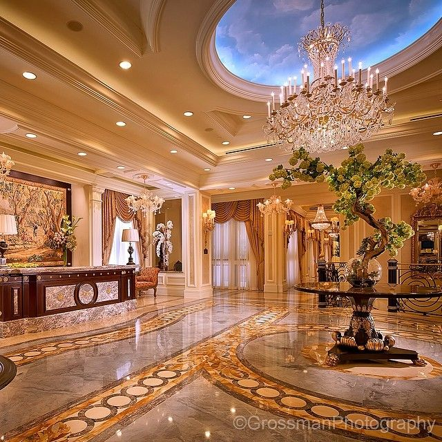 Luxury Mansions Interior: Interior Architectural Details & Finishes
