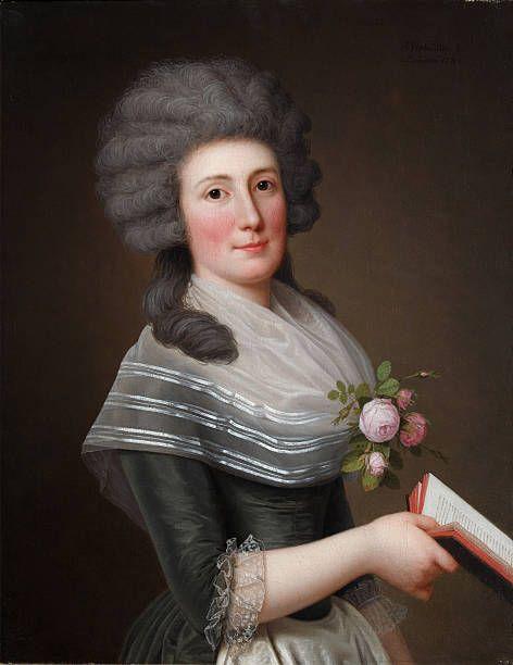 Portrait of Madame Wittfooth, nee Noer, 1789. Found in the collection of Podstanitsky collection. Artist : Wertmüller, Adolf Ulrik (1751-1811).
