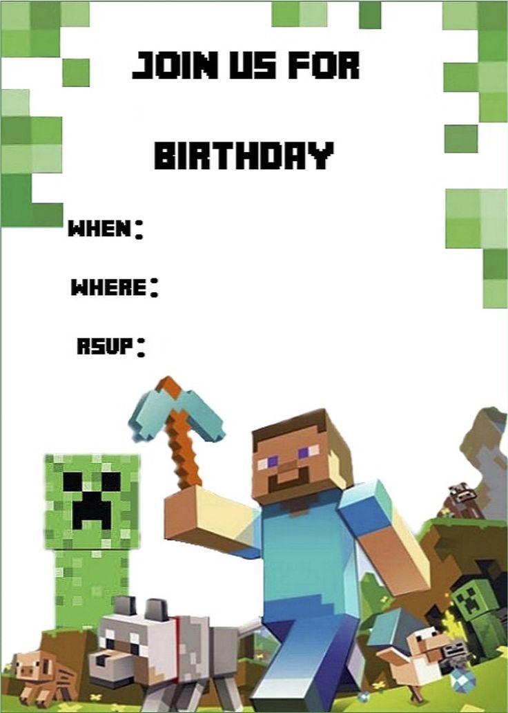 Приглашение на день рождения ребенка открытка майн крафтытка, картинки натписом видео