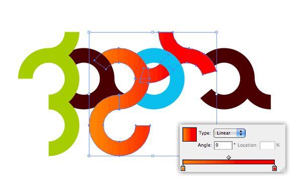 Zagora logo, typography tutorial