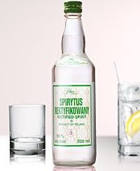 Polmos Spirytus Rektykiowany (Rectified Spirit) Polish Pure Spirit Vodka (500ml) - Vintage Direct