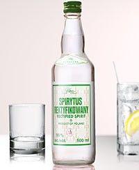 Polmos Spirytus Rektykiowany (Rectified Spirit) Polish Pure Spirit Vodka (500ml) - Vintage Direct