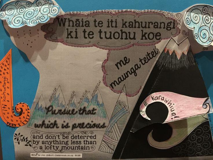 Whakatauki Olympics 2016 Te reo Māori www.thetereomaoriclassroom.co.nz