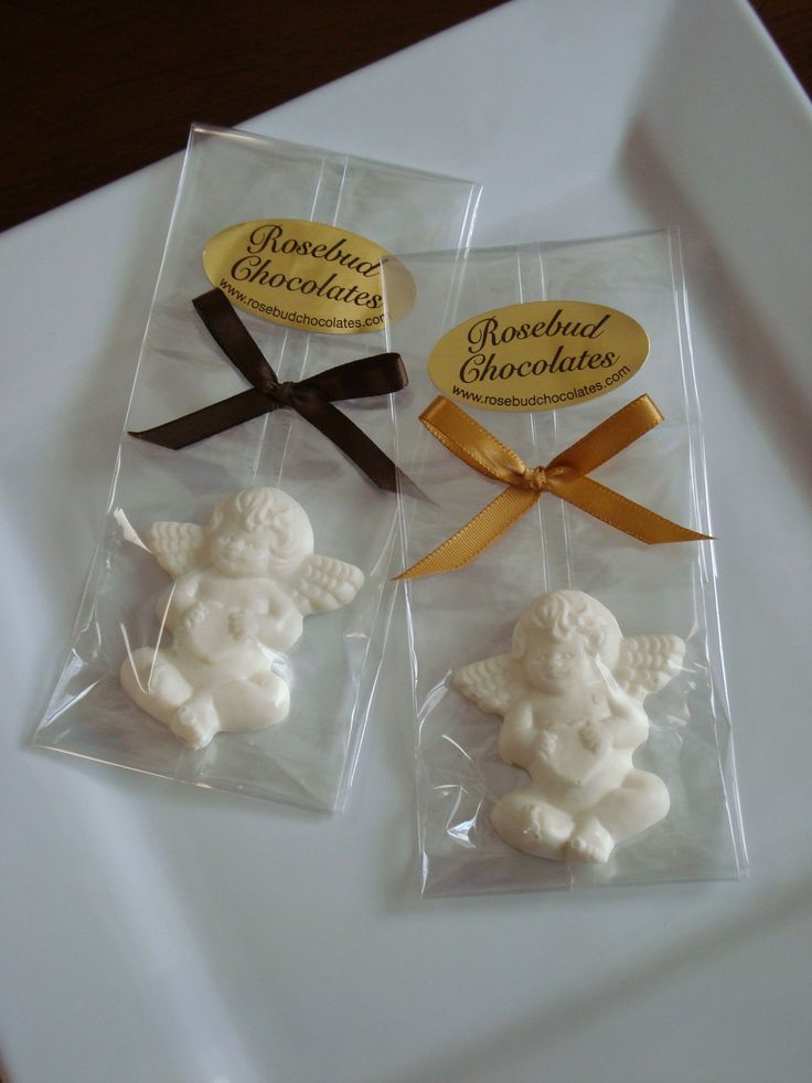 Best religious chocolate candy party favors angels