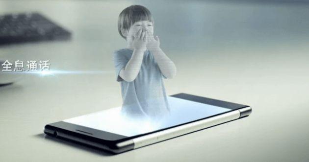 Nasce  Takee 1  il primo smartphone che proietta ologrammi.