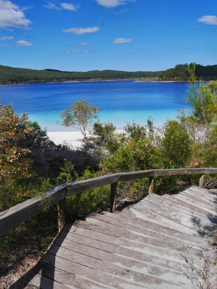 Lake McKenzie Fraser Island Australia thesweetwanderlust.com