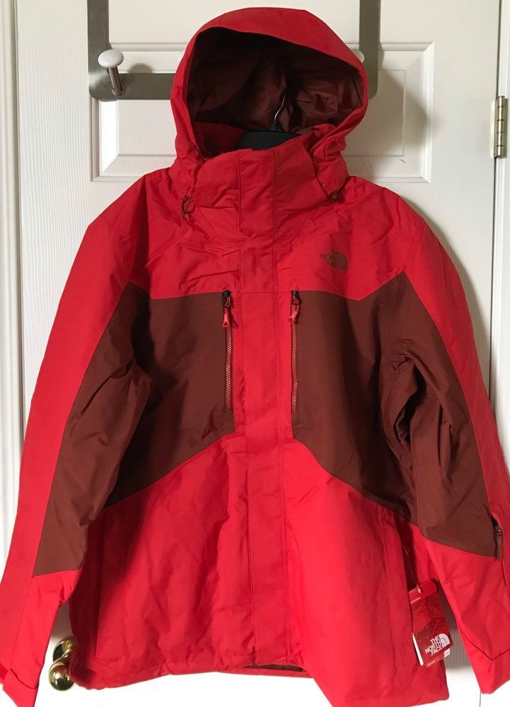 677679cc1e  280 NWT Mens The North Face Clement 3-in-1 TriClimate Jacket Centennial  Red XL  fashion  clothing  shoes  accessories  mensclothing  coatsjackets  (ebay ...