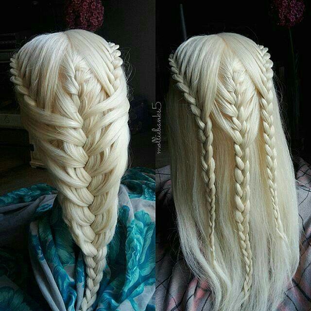 Elf Hair Style Elf Hair Langhaar Style Khaleesi Hair Hair Styles Long Hair Styles