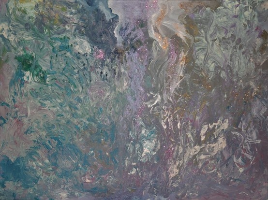 Beyond the Dreams (2011) 60x80 #Acrylic