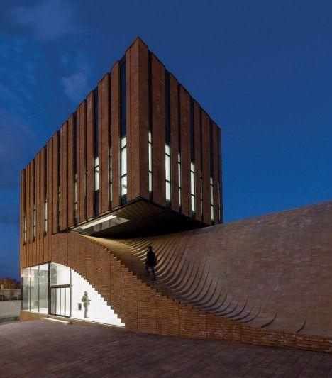 MODERN BUILDING|Termeh Office by Ahmad Bathaei & Farshad Mehdizadeh Architects | bocadolobo.com/ #modernarchitecture #architecture