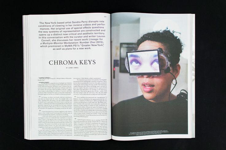 Mousse Magazine #53 ~ #sondraperry #laurencornell #interview #art #contemporaryart #magazine #moussemagazine