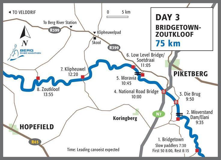 Map Berg Day Three
