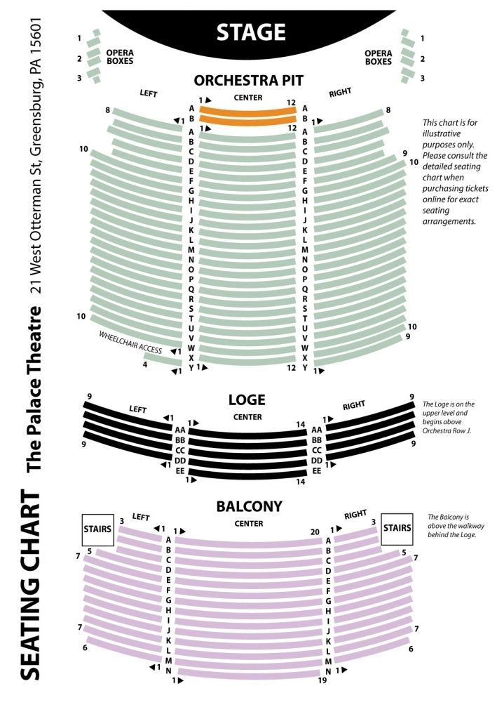 One World Theater Seating Chart