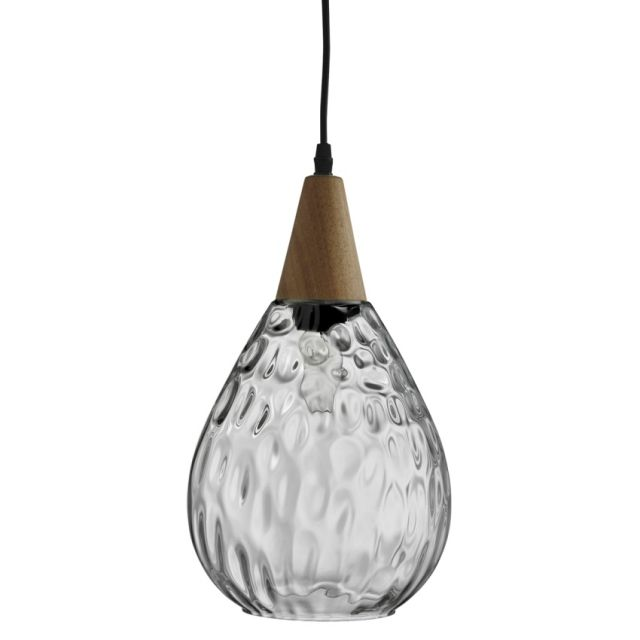 Add The Searchlight Indiana Pendant Wood Glass To Your Home This Stunning Dimpled Looks Chic In Any Room Of House And It Is Available At