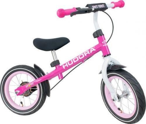 HUDORA loopfiets 'Ratzfratz Air', roze van Hoppa-Toys.nl.  De HUDORA 'Ratzfratz' loopfiets (blauw) is het topmodel van HUDORA onder de loopfietsen. Hoge kwaliteit en veel comfort. Van 69,95 euro voor 49,95 euro.