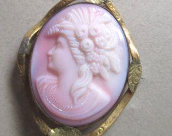 pink milk glass jewelry - Google Search