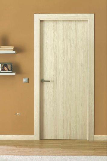Puertas de interior semi maciza vinilo maple puertas for Puertas interior valencia