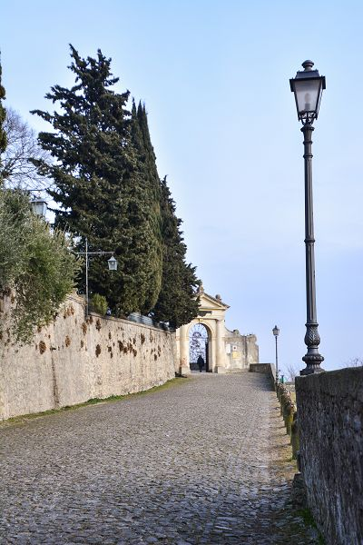 Salita alle Sette chiesette di Monselice