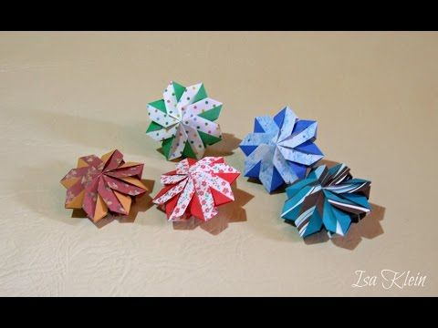 ▶ Origami Sachet - YouTube