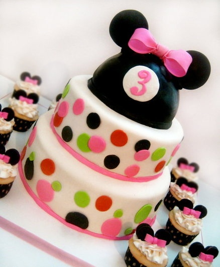 ... Minnie Mouse birthday party from invitations, decorations and party
