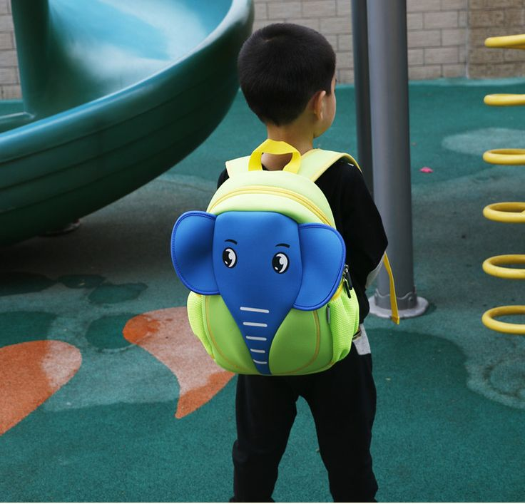 cute cartoon Neoprene other Children bag (blue)NHKX0002-blue