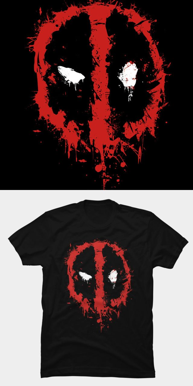 Deadpool: Logo Hoodie | Official Deadpool Merchandise | Redwolf