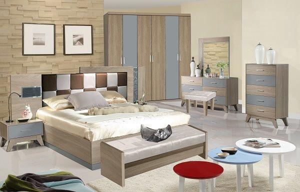 كتالوج غرف نوم مودرن كاملة بالدولاب 2018 2019 لوكشين