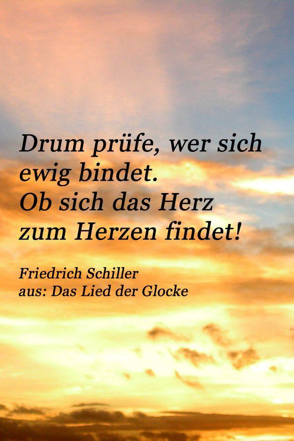Zitat Von Friedrich Schiller Aus Dem Berühmten Gedicht Das