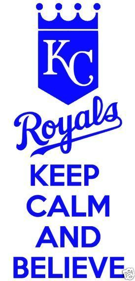 Kansas City Royals Game Room Movie Room Wall Decal Removable Wall Vinyl Decor