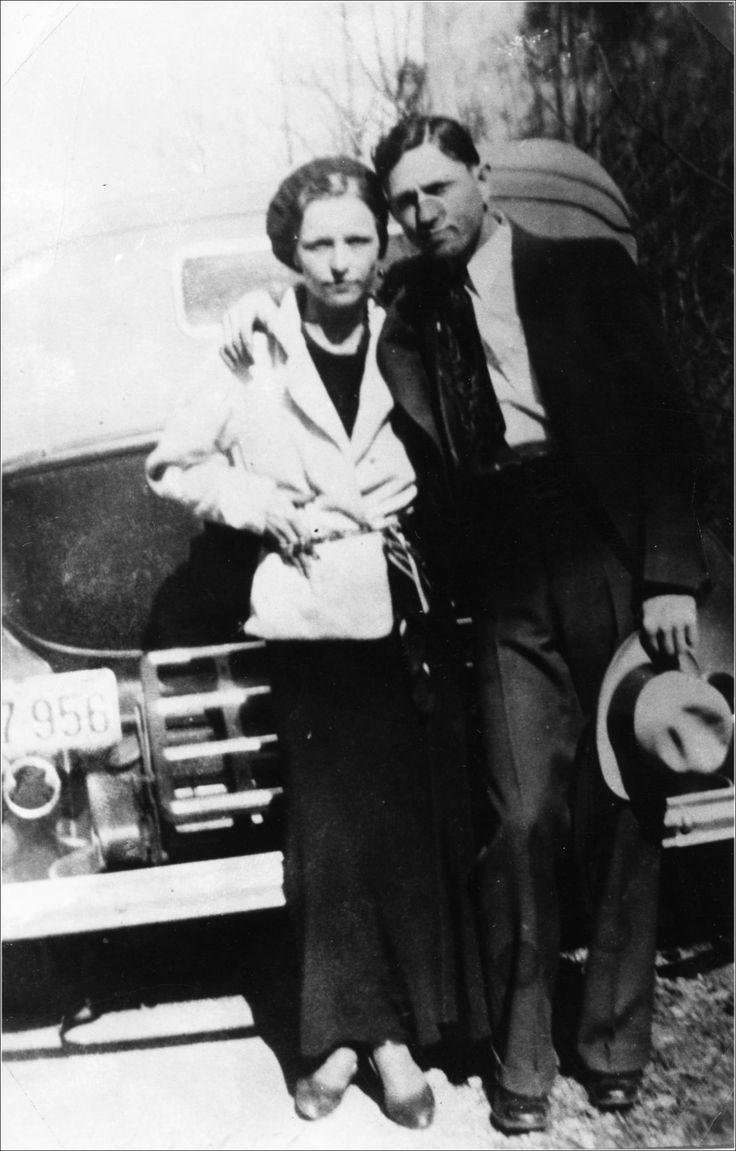 Bonnie Parker and Clyde Barrow, c. 1933