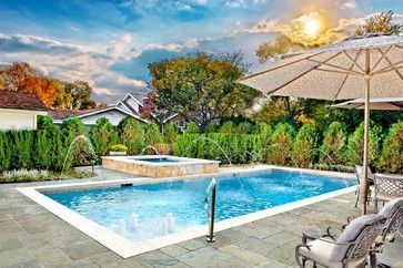Swimming Pools Chicago: Platinum Pools - traditional - pool - chicago - Platinum Poolcare