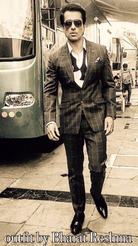 Sonu Sood in Suit.