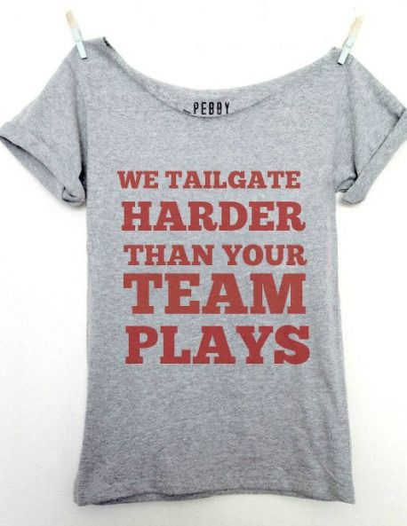 Bestseller – We Tailgate Harder Than Your Team Plays (Free US Shipping) #GoBucks #OSU #OHIOSTATE #TailGate