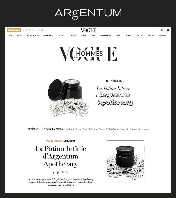 la potion infinie ~ 'in VOGUE' Vogue Paris #voguehommes