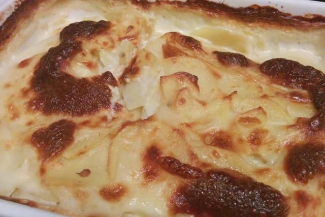 Gratin dauphinois - Mes Recettes au Cooking Chef