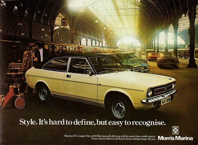 1975 Morris Marina TC Coupe by aldenjewell, via Flickr