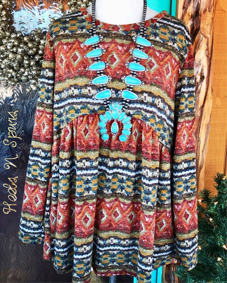 Southern Aztec Top