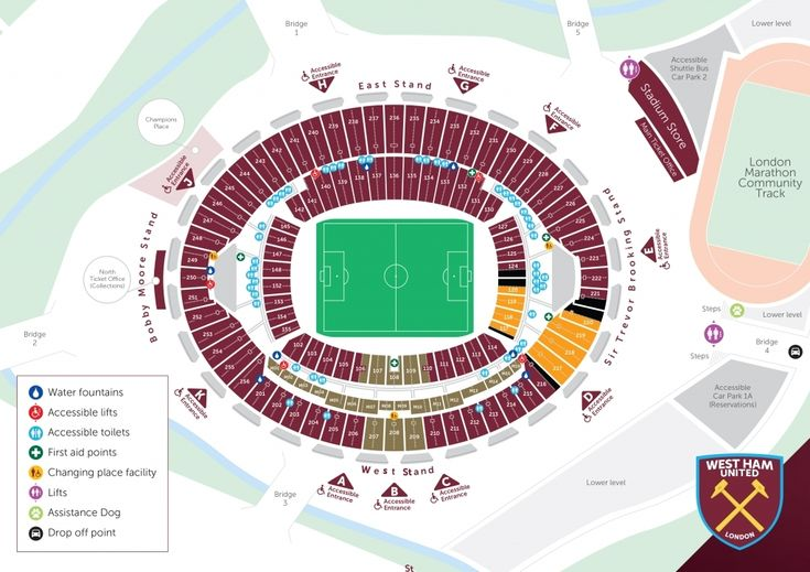 Fine The Incredible West Ham Seating Plan