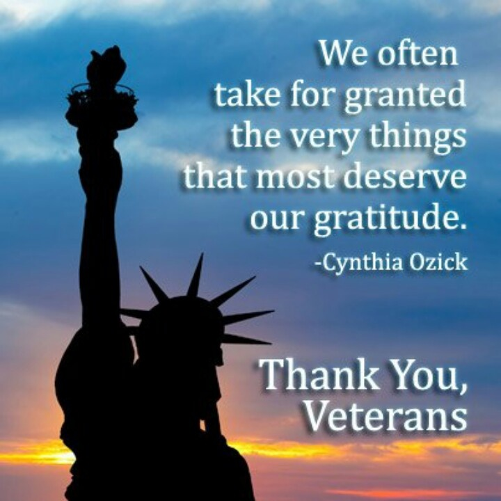 Quotes About Veterans: Thank You Veterans For Your Service.