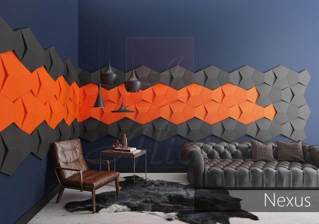 Гипсовые 3D панели Alivio 3d wallpanel 3d wall для отделки стен купить цена сотрудничество Украина от производителя_eco-materials.com.ua
