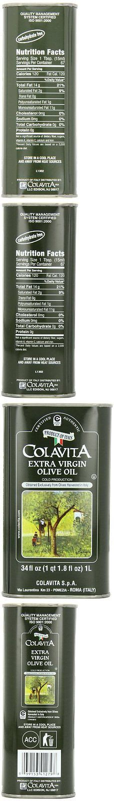 Oils 134646: Colavita Extra Virgin Olive Oil, 34-Ounce Tins Pack Of 2 -> BUY IT NOW ONLY: $38.82 on eBay!