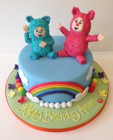 Billy and Bam Bam/Pinwheel smash cake