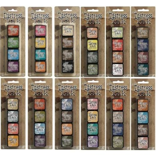 Currently collecting these. Tim Holtz Distress Ink Minis! I have kit #1 & 2, need 3-12.