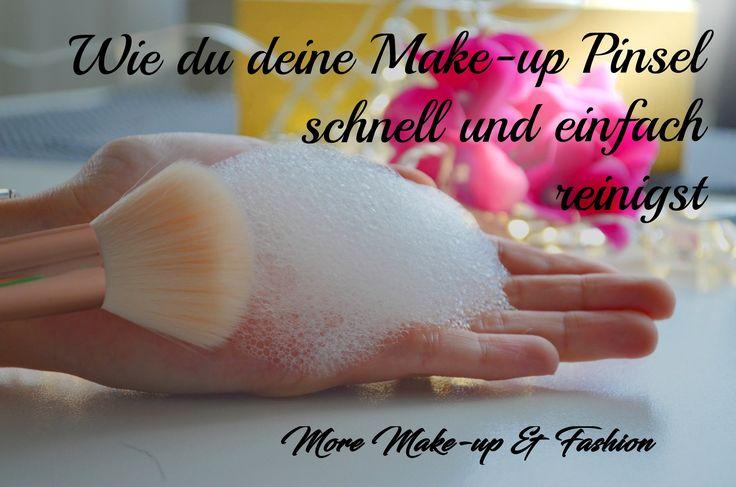 Heute zeige ich euch wie ihr ganz einfach und schnell, eure Make-up Pinsel reinigen könnt. #makeuphaul #Makeup #Brushes #Make-uppinsel #Eyeshadow #Makyaj