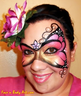 15 Best Images About Body Paint Ideas For Julie A On Pinterest | Angel Makeup Make Up Tutorial ...