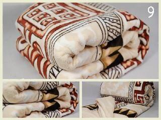 Jemná hrejivá deka z mikrovlákna vzorovaná