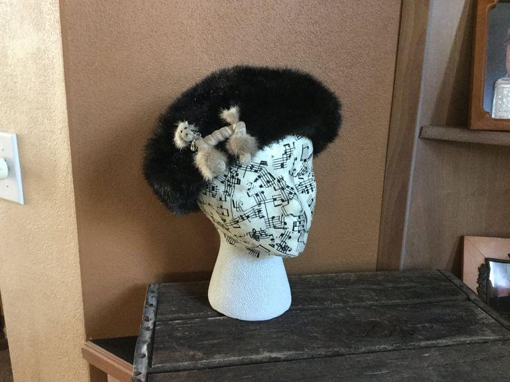 Vintage Faux Fur Hat, Ladies Fur Hat, Poodle Pinned Hat, Poodle Hat by PattisPickins on Etsy