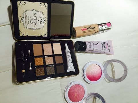NEW Hard Candy Make-Up , Liquid lipstick, highlight and contour, drugstore make up - YouTube