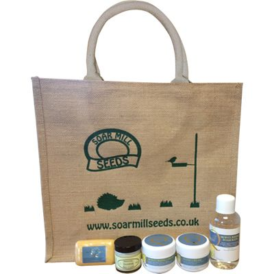 Honey Care Gift Pack - Perfect for a special occasion, Birthday or Christmas      Gift Pack contains:  Q817 Honey Foam Bath 250ml  Q501 Nourishing Cream 55ml  Q805 Hand Cream 100g  Q802 Moisturising Cream 100g  Q820 Honey Soap 100g  JUTE01  Soar Mill Seeds Reusable Bag     Total price bought separately would be £35.55. Therefore buying this gift pack saves you £6.60 which is over 18%