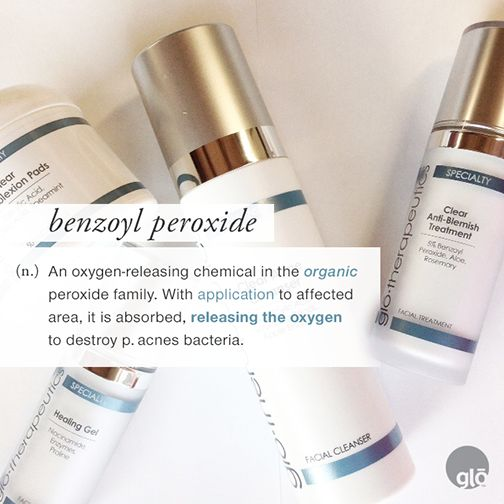 Ingredient Spotlight: Benzoyl Peroxide. Learn all about this powerful acne-fighting ingredient.